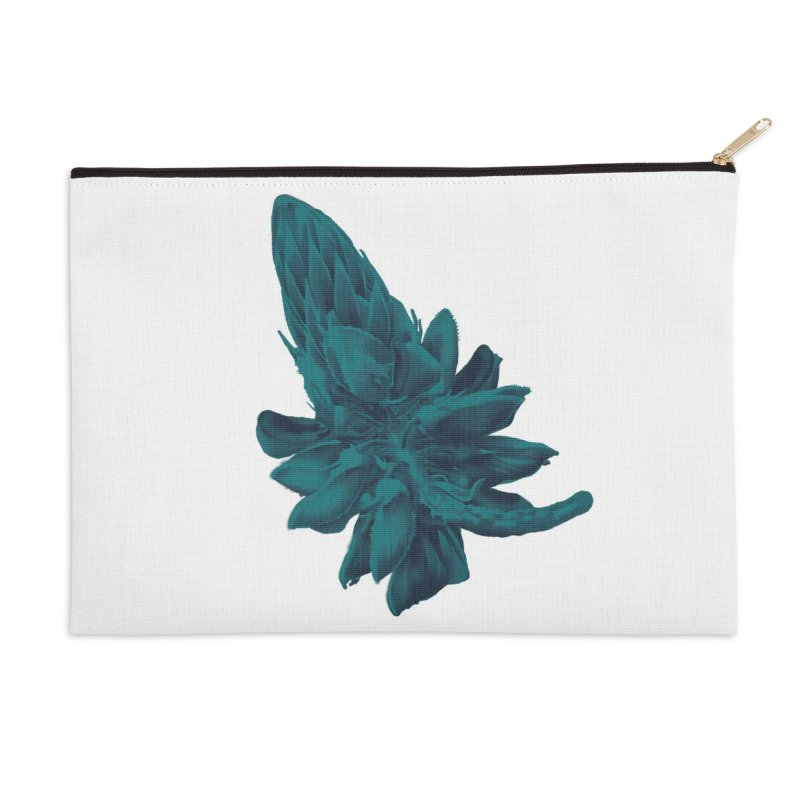 Schizo Pop Flower 2 Accessories Zip Pouch by schizo pop