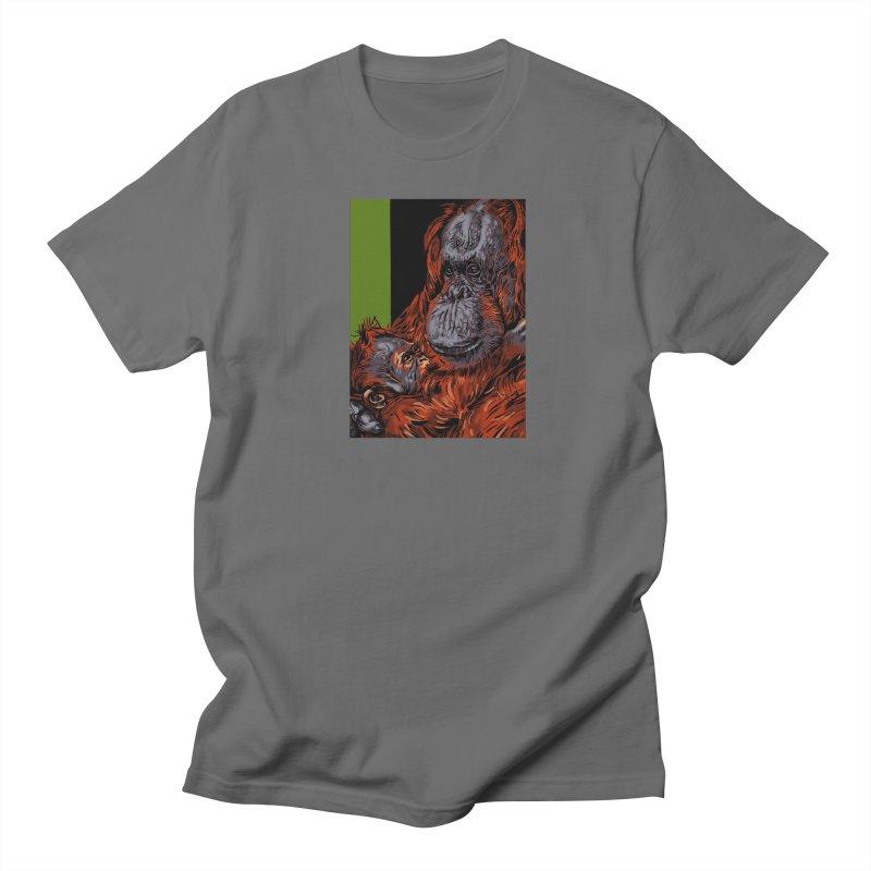 Schizo Pop Orangutan Men's T-Shirt by schizo pop