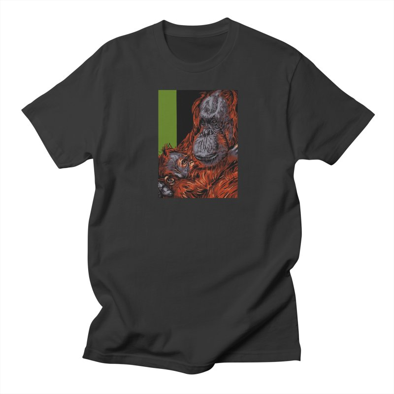 Schizo Pop Orangutan Men's T-Shirt by schizo pop