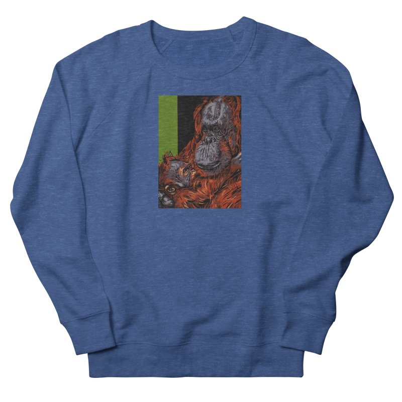 Schizo Pop Orangutan Men's Sweatshirt by schizo pop