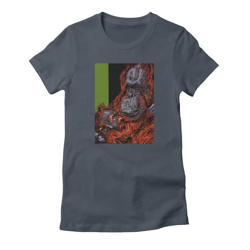 Schizo Pop Orangutan Women's T-Shirt by schizo pop