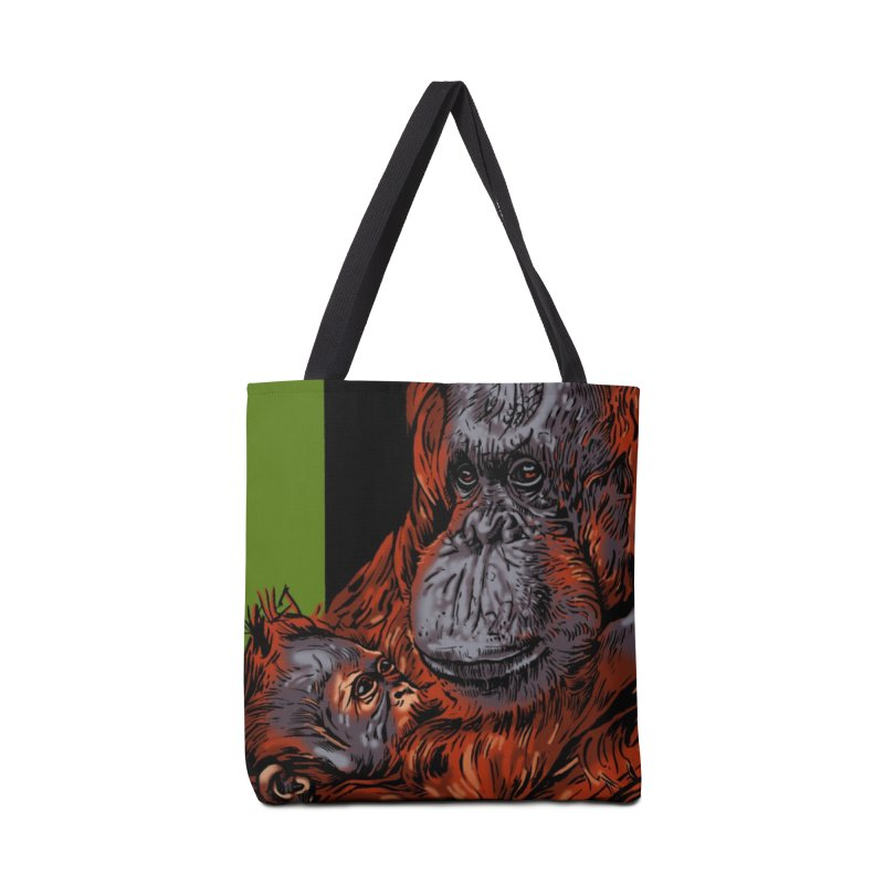 Schizo Pop Orangutan Accessories Bag by schizo pop