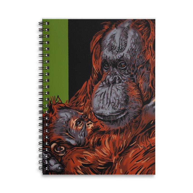 Schizo Pop Orangutan Accessories Notebook by schizo pop