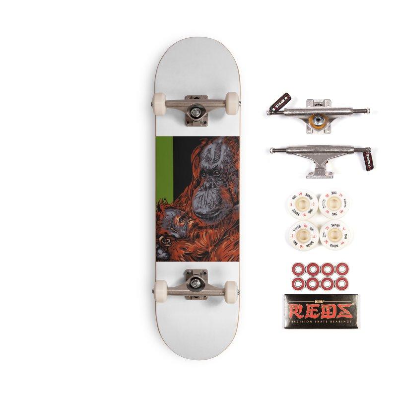 Schizo Pop Orangutan Accessories Complete - Pro Skateboard by schizo pop