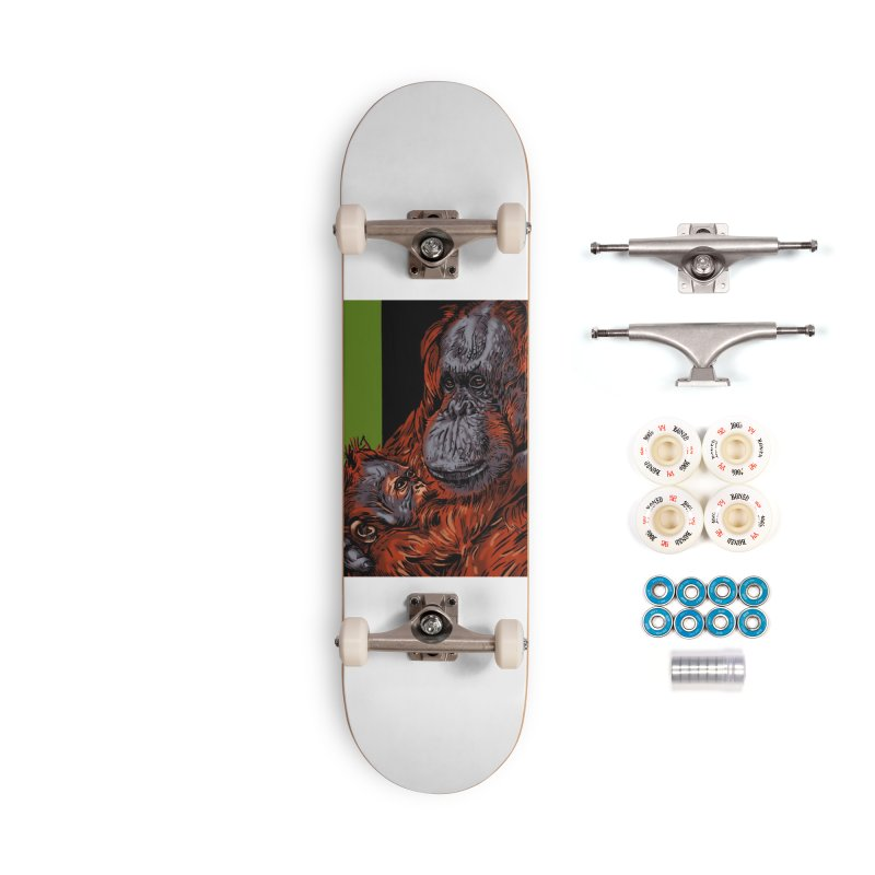 Schizo Pop Orangutan Accessories Complete - Premium Skateboard by schizo pop