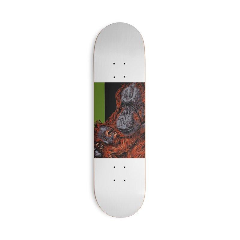 Schizo Pop Orangutan Accessories Deck Only Skateboard by schizo pop