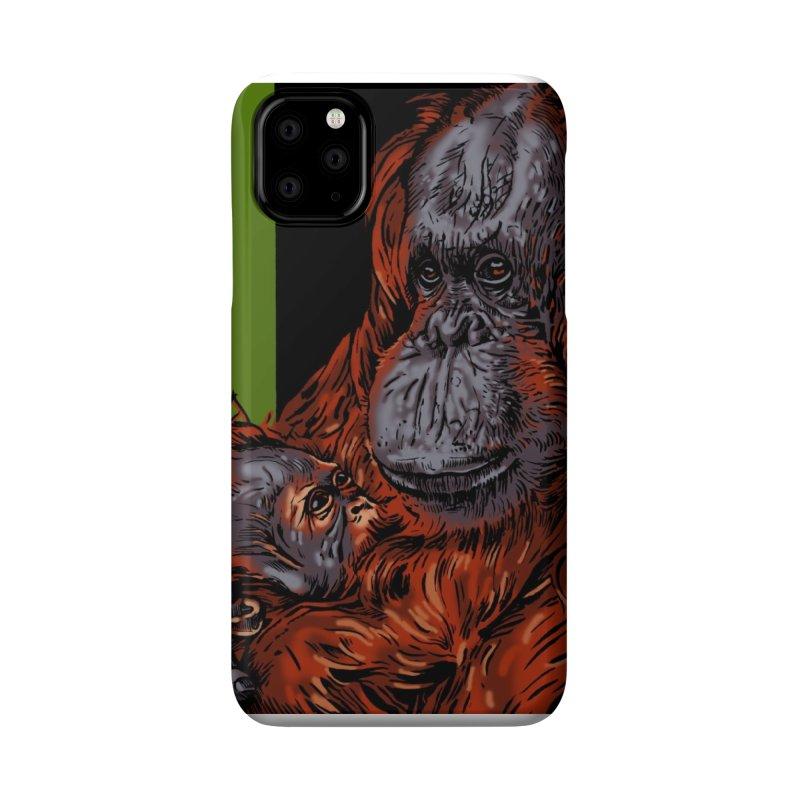 Schizo Pop Orangutan Accessories Phone Case by schizo pop