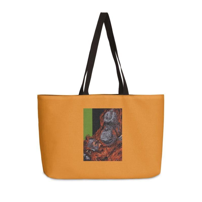 Schizo Pop Orangutan Accessories Bag by schizo pop