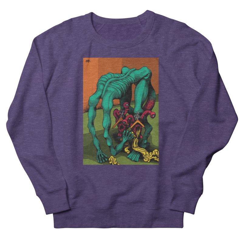 Schizo Pop Genetic Design 1 Women's French Terry Sweatshirt by schizo pop