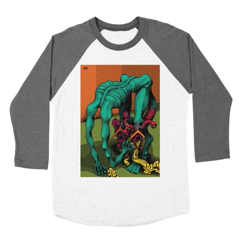 Schizo Pop Genetic Design 1 Women's Baseball Triblend Longsleeve T-Shirt by schizo pop