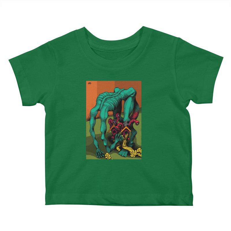 Schizo Pop Genetic Design 1 Kids Baby T-Shirt by schizo pop