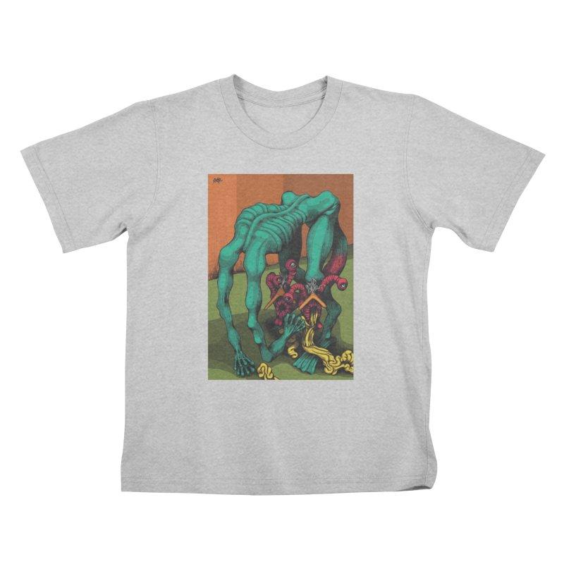 Schizo Pop Genetic Design 1 Kids T-Shirt by schizo pop