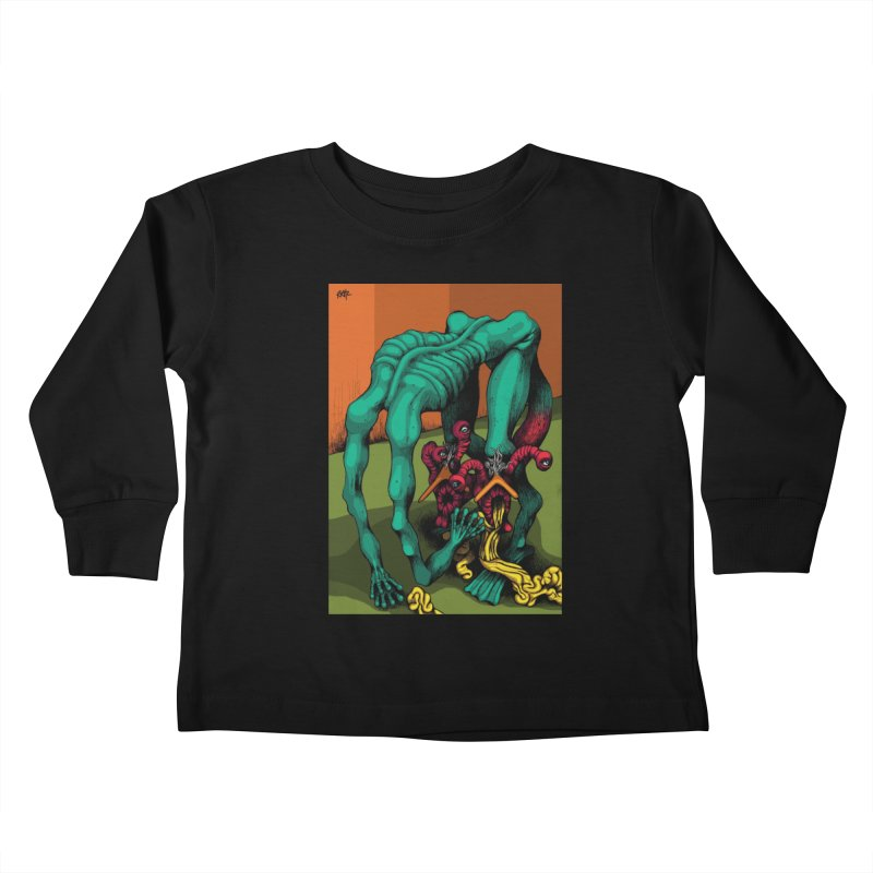 Schizo Pop Genetic Design 1 Kids Toddler Longsleeve T-Shirt by schizo pop