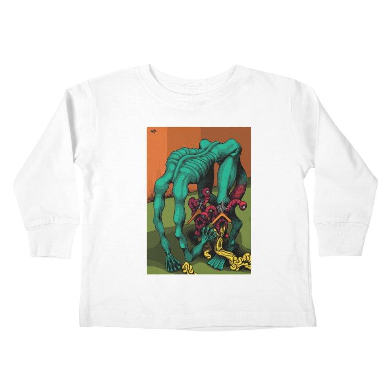 Schizo Pop Genetic Design 1 Kids Toddler Longsleeve T-Shirt by schizo pop