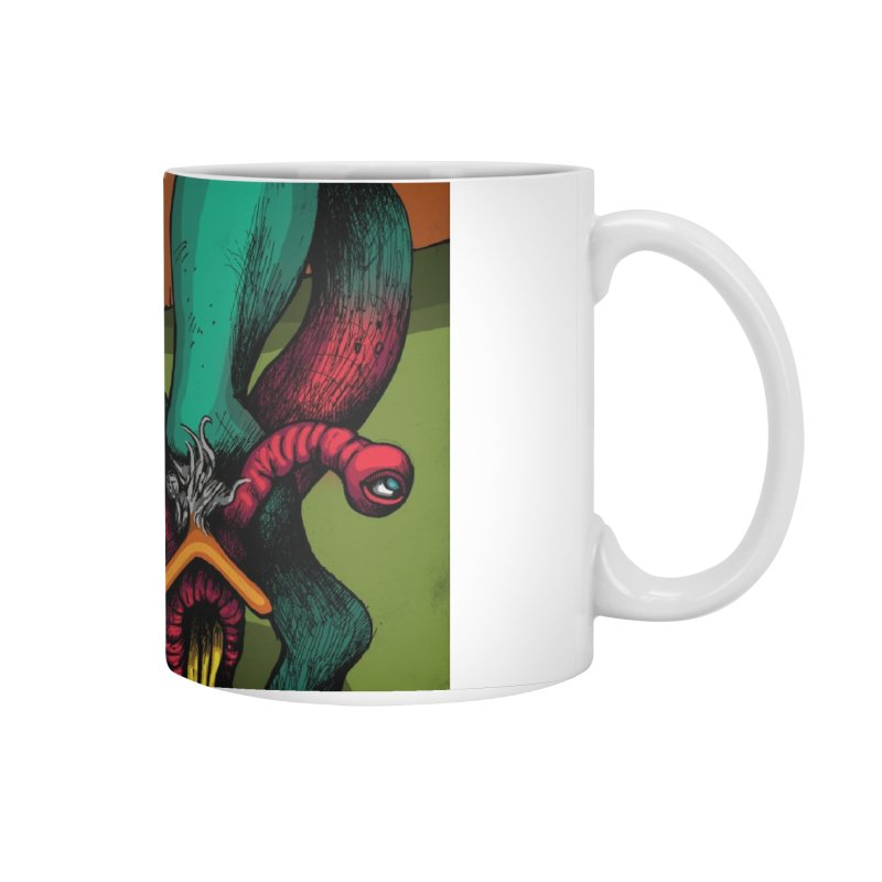 Schizo Pop Genetic Design 1 Accessories Mug by schizo pop