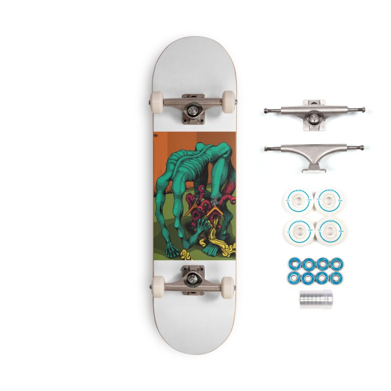 Schizo Pop Genetic Design 1 Accessories Skateboard by schizo pop