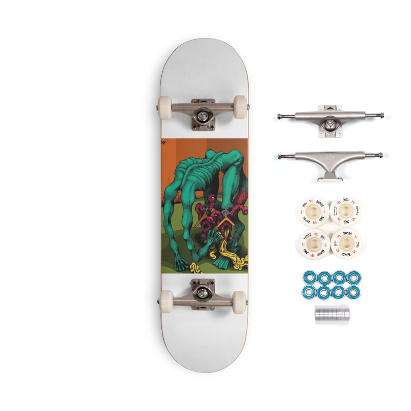 Schizo Pop Genetic Design 1 Accessories Complete - Premium Skateboard by schizo pop