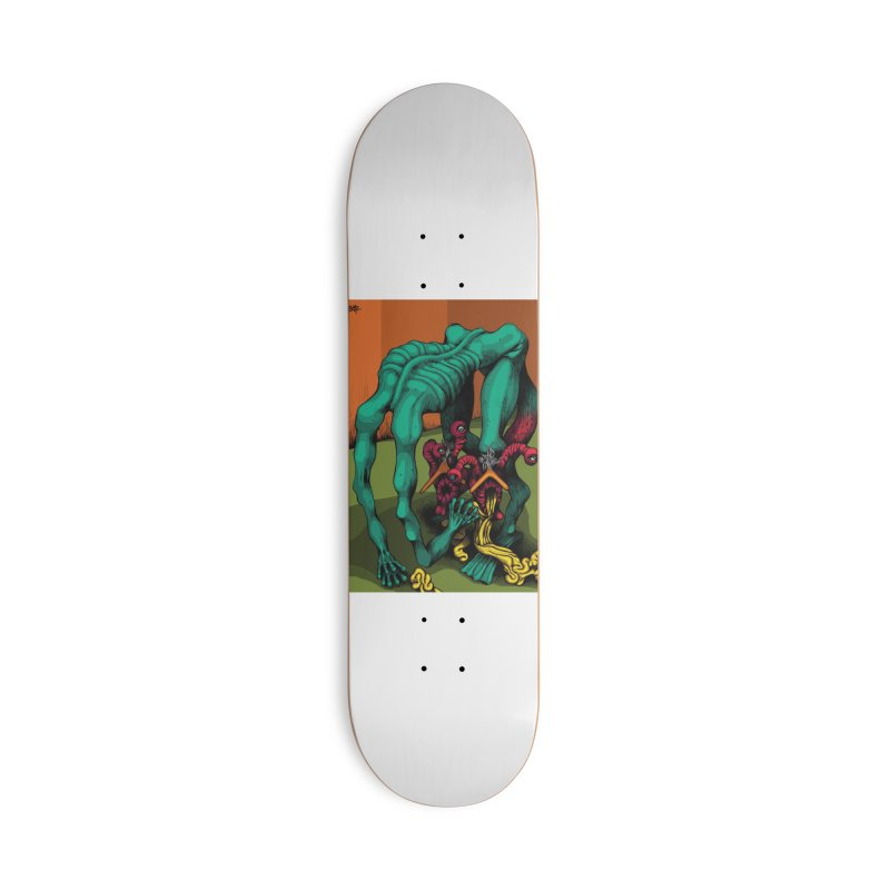 Schizo Pop Genetic Design 1 Accessories Deck Only Skateboard by schizo pop