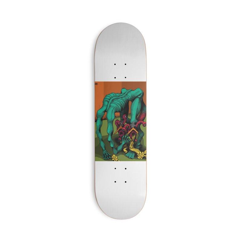 Schizo Pop Genetic Design 1 Accessories Skateboard by schizo pop