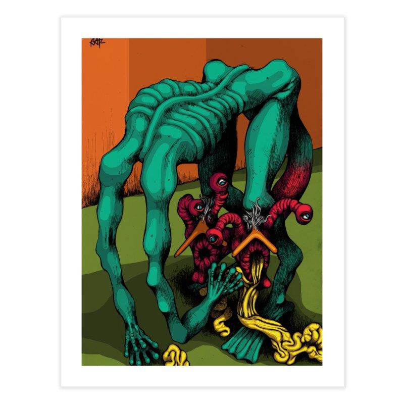 Schizo Pop Genetic Design 1 Home Fine Art Print by schizo pop
