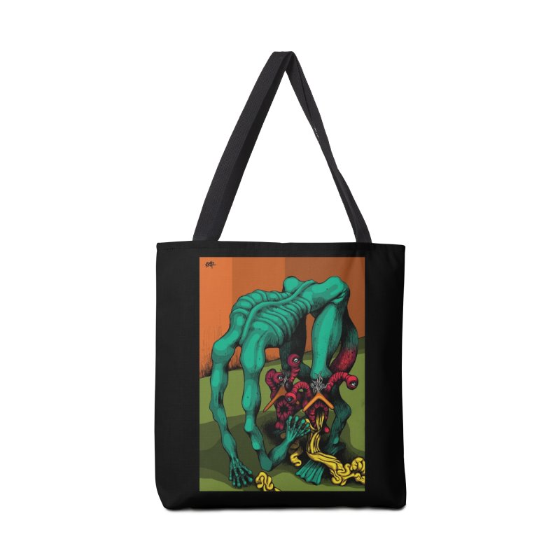 Schizo Pop Genetic Design 1 Accessories Bag by schizo pop