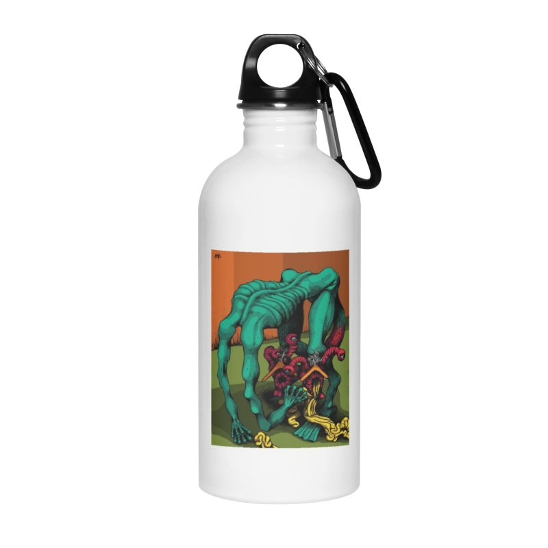 Schizo Pop Genetic Design 1 Accessories Water Bottle by schizo pop