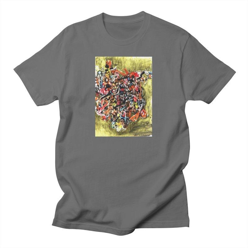 Drawing Blog No.2 - 1.1.09 Men's T-Shirt by schizo pop