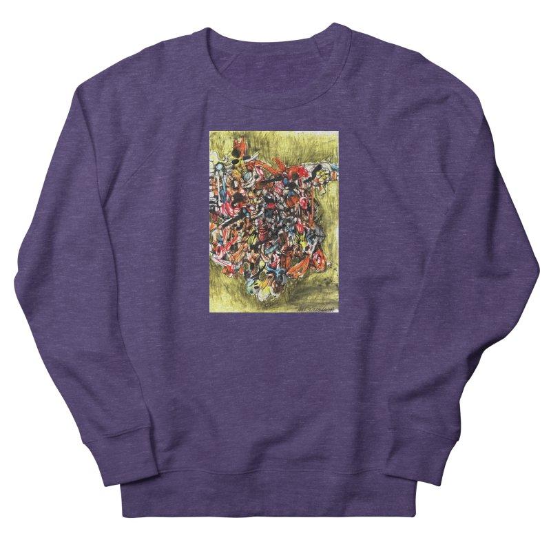 Drawing Blog No.2 - 1.1.09 Women's French Terry Sweatshirt by schizo pop
