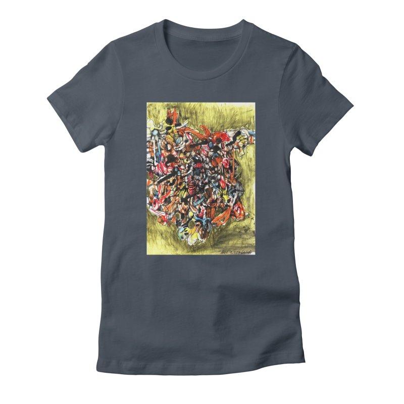 Drawing Blog No.2 - 1.1.09 Women's T-Shirt by schizo pop