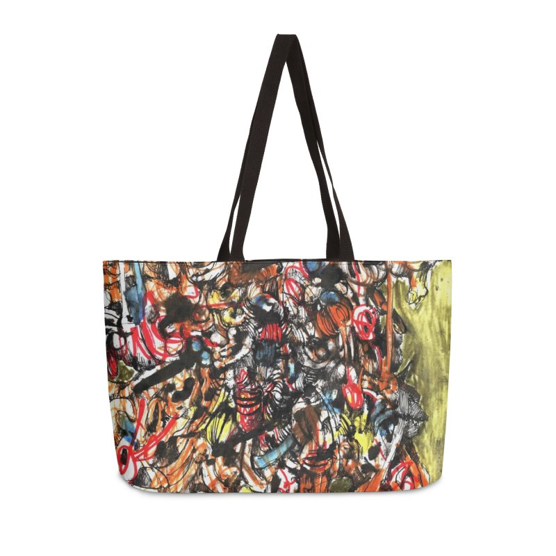 Drawing Blog No.2 - 1.1.09 Accessories Weekender Bag Bag by schizo pop