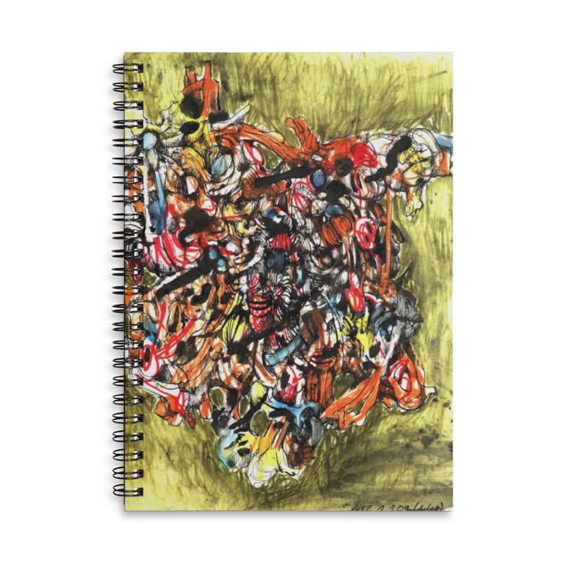 Drawing Blog No.2 - 1.1.09 Accessories Notebook by schizo pop