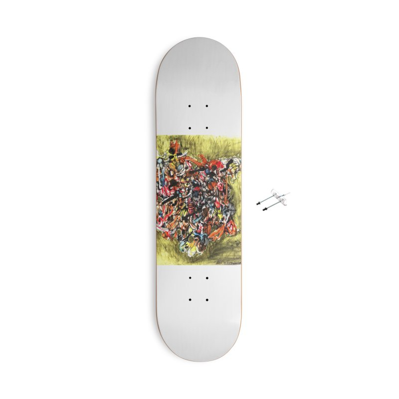 Drawing Blog No.2 - 1.1.09 Accessories Skateboard by schizo pop