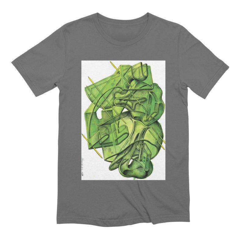 Drawing Blog No.5 - 1.11.13 Men's Extra Soft T-Shirt by schizo pop