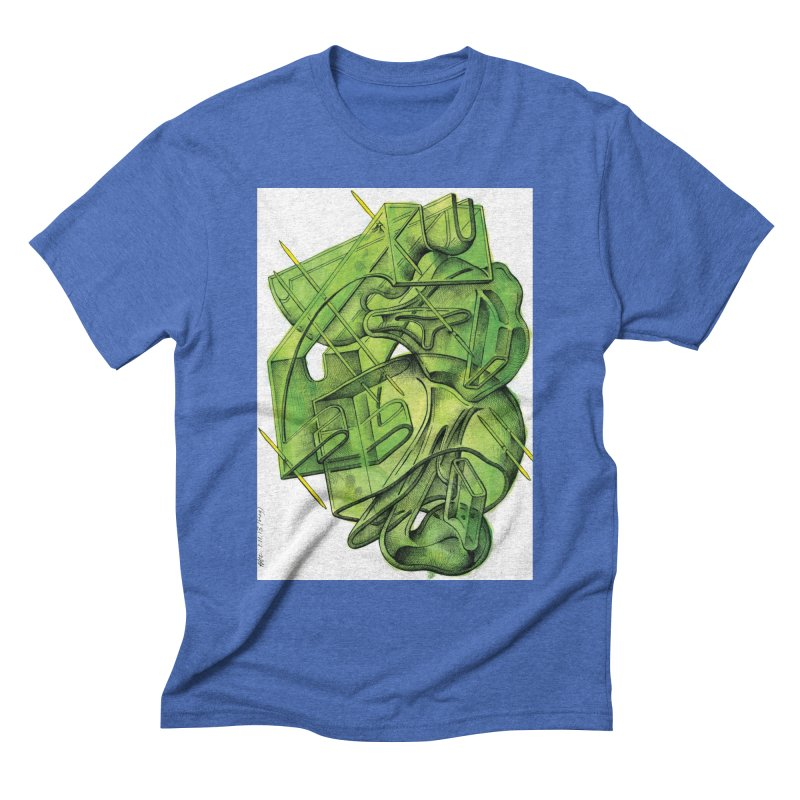 Drawing Blog No.5 - 1.11.13 Men's T-Shirt by schizo pop