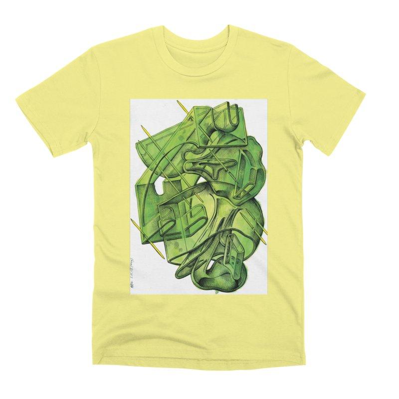 Drawing Blog No.5 - 1.11.13 Men's Premium T-Shirt by schizo pop