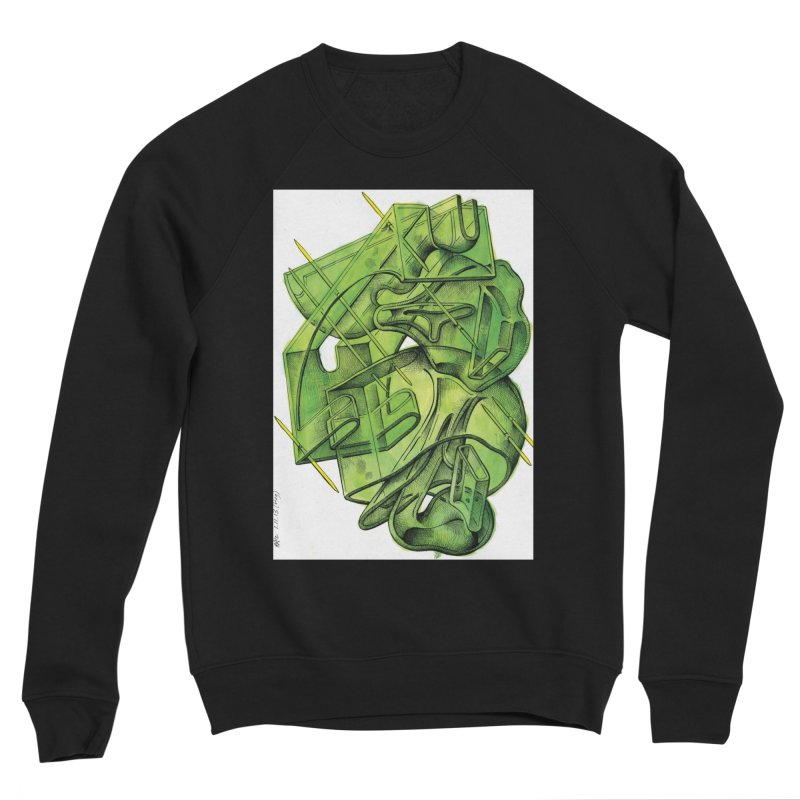 Drawing Blog No.5 - 1.11.13 Men's Sweatshirt by schizo pop