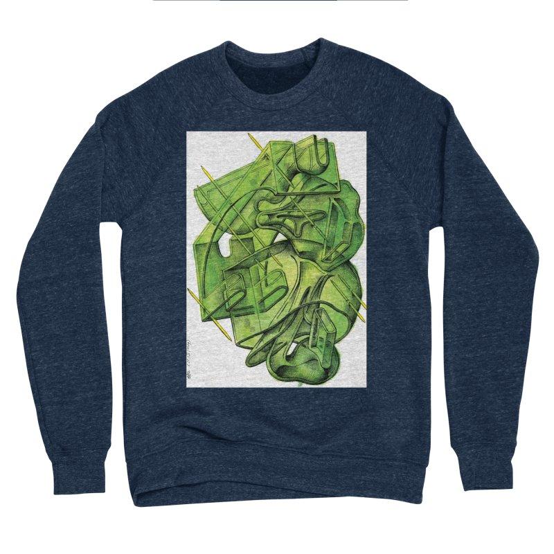 Drawing Blog No.5 - 1.11.13 Men's Sponge Fleece Sweatshirt by schizo pop