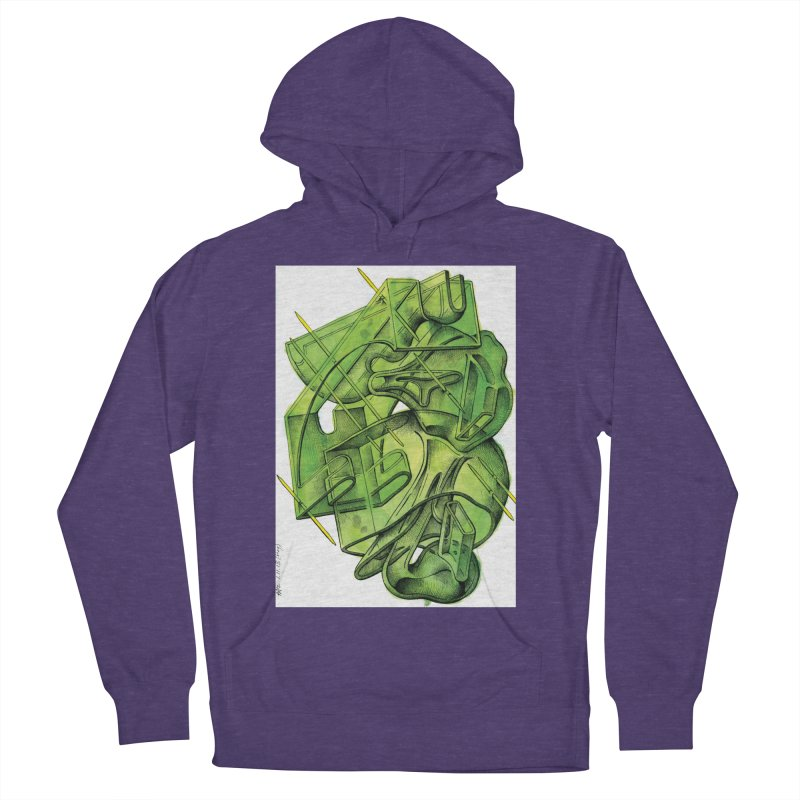 Drawing Blog No.5 - 1.11.13 Women's French Terry Pullover Hoody by schizo pop