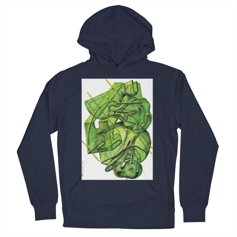 Drawing Blog No.5 - 1.11.13 Men's French Terry Pullover Hoody by schizo pop