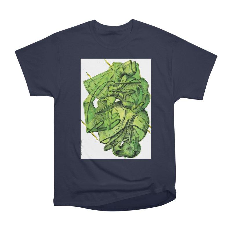 Drawing Blog No.5 - 1.11.13 Men's Heavyweight T-Shirt by schizo pop