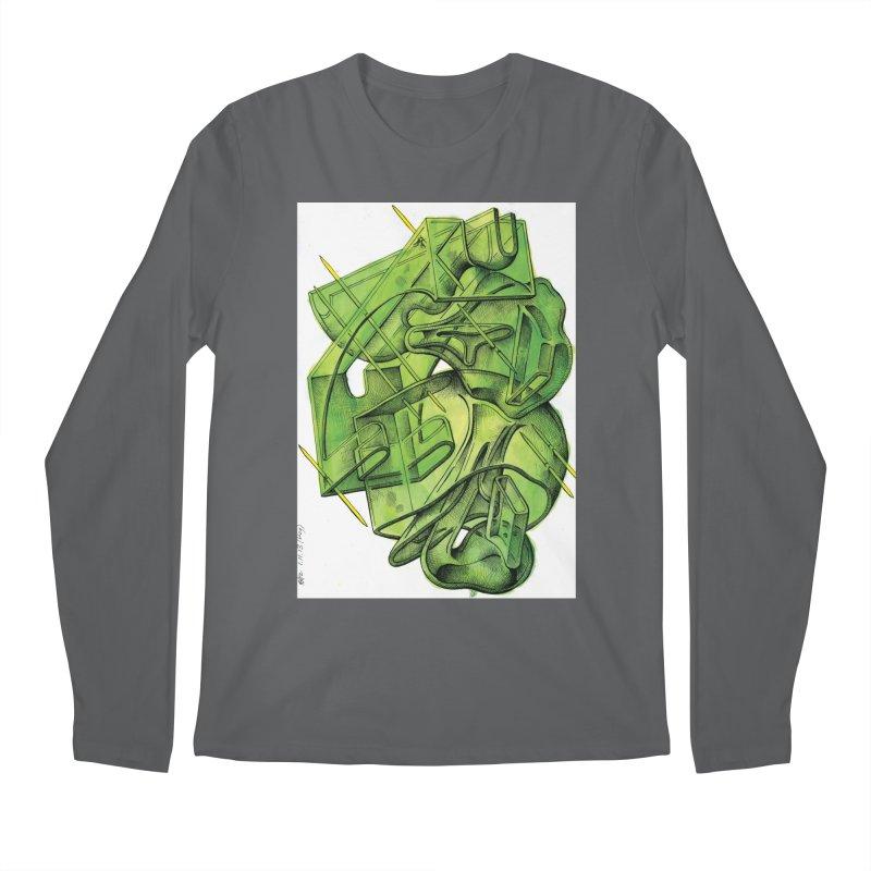 Drawing Blog No.5 - 1.11.13 Men's Longsleeve T-Shirt by schizo pop