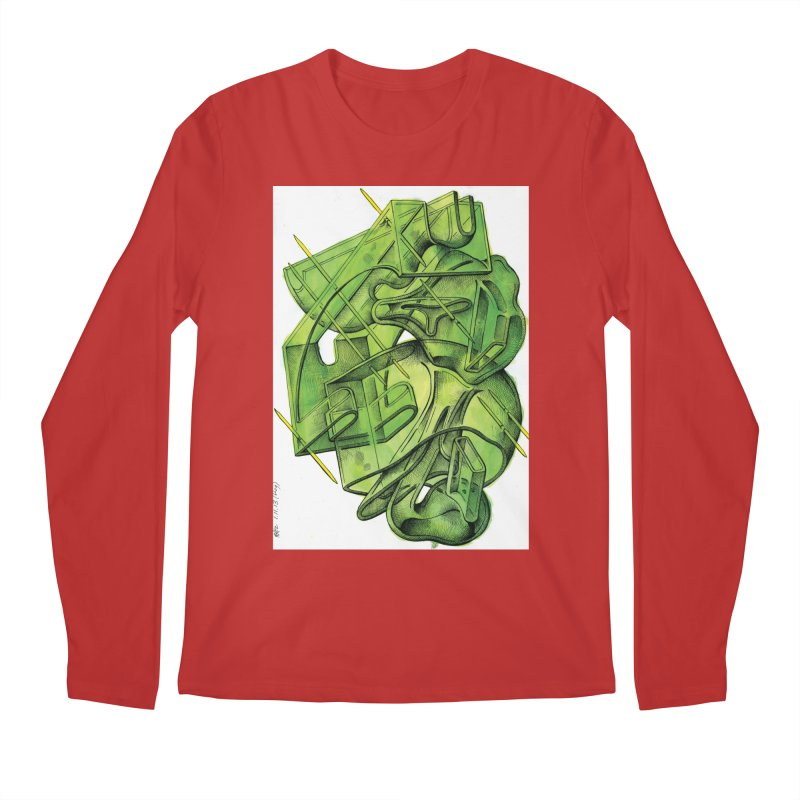Drawing Blog No.5 - 1.11.13 Men's Regular Longsleeve T-Shirt by schizo pop