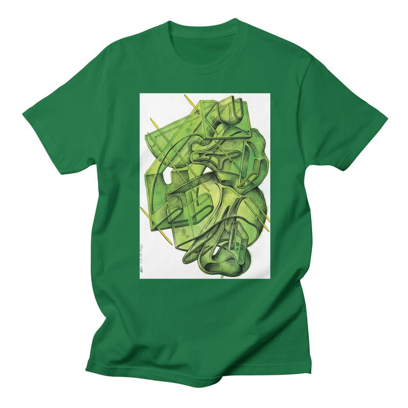 Drawing Blog No.5 - 1.11.13 Men's Regular T-Shirt by schizo pop