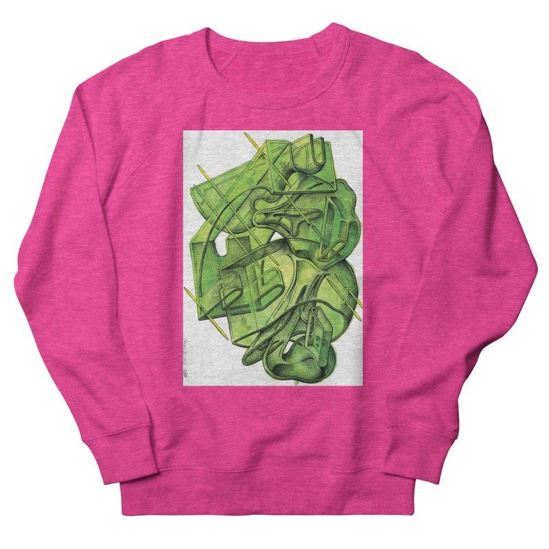 Drawing Blog No.5 - 1.11.13 Men's French Terry Sweatshirt by schizo pop