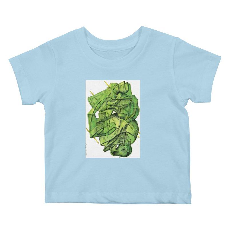 Drawing Blog No.5 - 1.11.13 Kids Baby T-Shirt by schizo pop