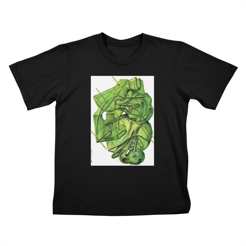 Drawing Blog No.5 - 1.11.13 Kids T-Shirt by schizo pop