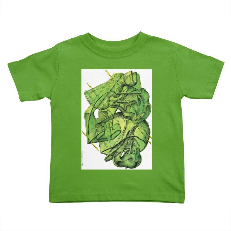 Drawing Blog No.5 - 1.11.13 Kids Toddler T-Shirt by schizo pop