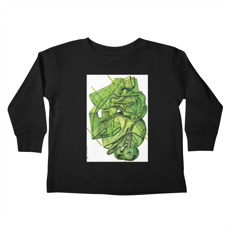 Drawing Blog No.5 - 1.11.13 Kids Toddler Longsleeve T-Shirt by schizo pop