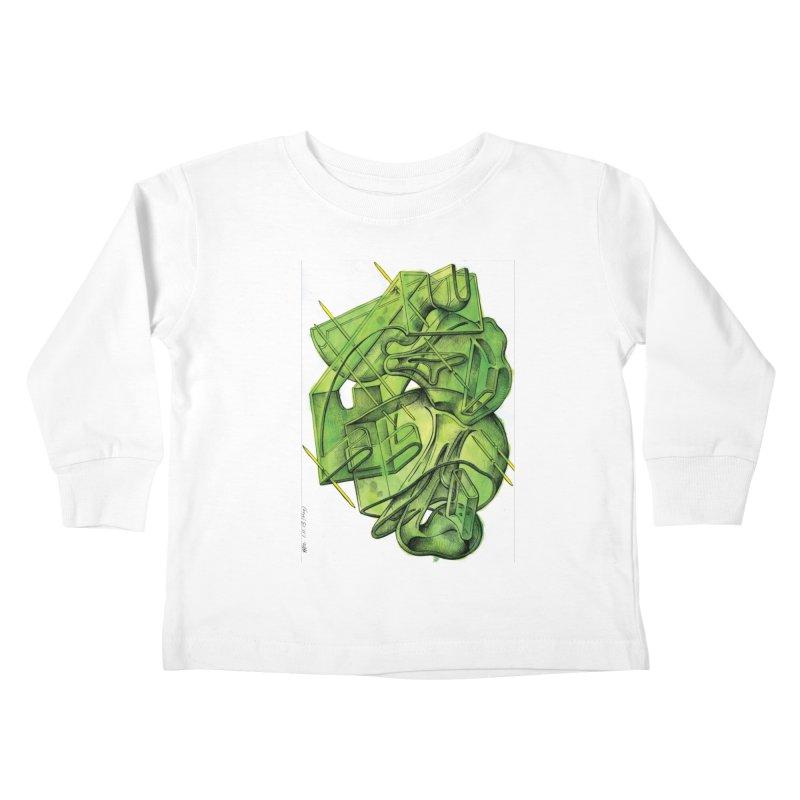 Drawing Blog No.5 - 1.11.13 Kids Toddler Longsleeve T-Shirt by schizo pop