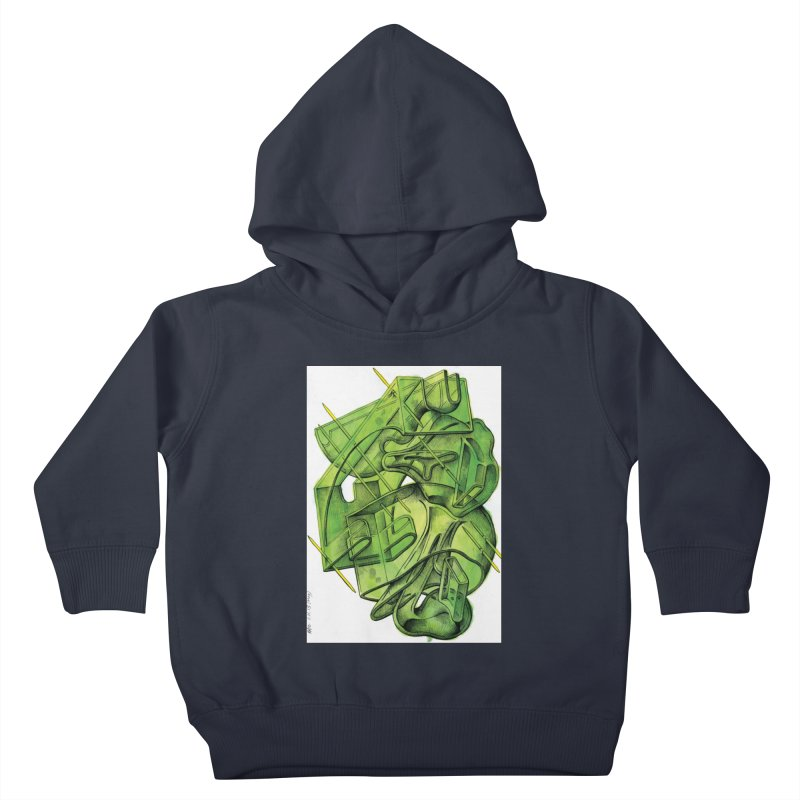 Drawing Blog No.5 - 1.11.13 Kids Toddler Pullover Hoody by schizo pop